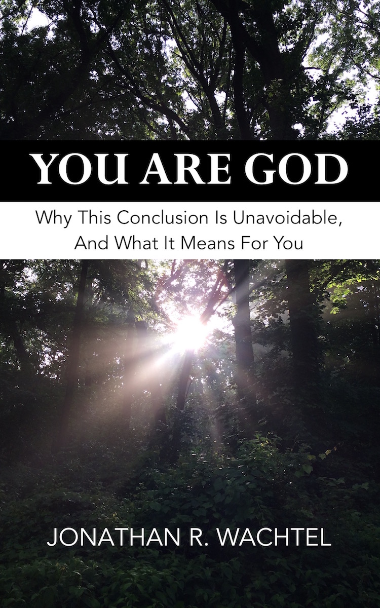 You Are God:  Why This Conclusion Is Unavoidable And What It Means For You, inspirational ebook by South Windsor, CT, Hartford County, Connecticut life coach and life consultant, relationship coach and relationship consultant, career coach and career consultant, business coach and business consultant, marketing coach and marketing consultant, SEO expert and SEO consultant, health coach and health consultant, success coach and success consultant, law of attraction coach and law of attraction consultant, international speaker and best-selling author and Kew Gardens, Queens, New York City, New York, NY life coach and life consultant, relationship coach and relationship consultant, career coach and career consultant, business coach and business consultant, marketing coach and marketing consultant, SEO expert and SEO consultant, health coach and health consultant, success coach and success consultant, law of attraction coach and law of attraction consultant, international speaker and best-selling author Jonathan R. Wachtel in South Windsor, CT, Hartford County, Connecticut, CT, Wapping, CT, Windsor, CT, East Windsor, CT, Windsor Locks, CT, Manchester, CT, Vernon, CT, West Hartford, CT, East Hartford, CT, Hartford, CT, Glastonbury, CT, Farmington, CT, Bloomfield, CT, Ellington, CT, Bolton, CT, Somers, CT, Enfield, CT, Suffield, CT, Tolland, CT, Willington, CT, Stafford, CT, Granby, CT, Addison, CT, Wethersfield, CT, Newington, CT, Simsbury, CT, Avon, CT, East Granby, CT, Canton, CT, Marlborough, CT, Rocky Hill, CT, Cromwell, CT, Andover, CT, Coventry, CT, New Britain, CT, Berlin, CT, Kensington, CT, East Hampton, CT, Portland, CT, Middletown, CT, Middlefield, CT, Hebron, CT, Columbia, CT, Mansfield, CT, Colchester, CT, Lebanon, CT, Windham, CT, Chaplin, CT, Hampton, CT, Ashford, CT, Eastford, CT, Union, CT, Hartland, CT, Barkhamsted, CT, Southington, CT, Bristol, CT, Meriden, CT, Cheshire, CT, Durham, CT, Wallingford, CT, Northford, CT, Hamden, CT, Bozrah, CT, Sprague, CT, Lisbon, CT, Salem, CT, East Haddam, CT, Chester, CT, Lyme, CT, Essex, CT, Montville, CT, Norwich, CT, Preston, CT, Ledyard, CT, New London, CT, Lisbon, CT, Plainfield, CT, Brooklyn, CT, Pomfret, CT, Woodstock, CT, Putnam, CT, Killingly, CT, Sterling, CT, North Stonington, CT, Stonington, CT, East Lyme, CT, Old Lyme, CT, Old Saybrook, CT, Madison, CT, Guilford, CT, North Branford, CT, Branford, CT, New Haven, CT, West Haven, CT, Wolcott, CT, Waterbury, CT, Naugatuck, CT, Middlebury, CT, Woodbury, CT, Watertown, CT, Thomaston, CT, Burlington, CT, Harwinton, CT, Torrington, CT,  New Hartford, CT, Winchester, CT, Colebrook, CT, Norfolk, CT, Goshen, CT, Litchfield, CT, Morris, CT, Bethlehem, CT, Southbury, CT, Cornwall, CT, Warren, CT, Canaan, CT, North Canaan, CT, Salisbury, CT, Sharon, CT, Kent, CT, Roxbury, CT, New Milford, CT, Brookfield, CT, Fairfield, CT, Newtown, CT, Monroe, CT, Shelton, CT, Milford, CT, Trumbull, CT, Bridgeport, CT, Bethel, CT, Redding, CT, Danbury, CT, New Fairfield, CT, Ridgefield, CT, Wilton, CT, Westport, CT, Norwalk, CT, New Canaan, CT, Darien, CT, Stamford, CT, Greenwich, CT, Agawam, MA, East Longmeadow, MA, Springfield, MA, Southwick, MA, Granville, MA, Tolland, MA, Westfield, MA, Chicopee, MA, Wilbraham, MA, Ludlow, MA, Monson, MA, Wales, MA, Holland, MA, Brimfield, MA, Palmer, MA, Ludlow, MA, Holyoke, MA, Russell, MA, Blandford, MA, formerly in Kew Gardens, Queens, New York City, New York, NY, near the Upper East Side of Manhattan, near Chelsea, NY, near Westchester, NY, near the Hamptons, on Long Island, NY, serving South Windsor, CT, Hartford County, Connecticut, CT, Wapping, CT, Windsor, CT, East Windsor, CT, Windsor Locks, CT, Manchester, CT, Vernon, CT, West Hartford, CT, East Hartford, CT, Hartford, CT, Glastonbury, CT, Farmington, CT, Bloomfield, CT, Ellington, CT, Bolton, CT, Somers, CT, Enfield, CT, Suffield, CT, Tolland, CT, Willington, CT, Stafford, CT, Granby, CT, Addison, CT, Wethersfield, CT, Newington, CT, Simsbury, CT, Avon, CT, East Granby, CT, Canton, CT, Marlborough, CT, Rocky Hill, CT, Cromwell, CT, Andover, CT, Coventry, CT, New Britain, CT, Berlin, CT, Kensington, CT, East Hampton, CT, Portland, CT, Middletown, CT, Middlefield, CT, Hebron, CT, Columbia, CT, Mansfield, CT, Colchester, CT, Lebanon, CT, Windham, CT, Chaplin, CT, Hampton, CT, Ashford, CT, Eastford, CT, Union, CT, Hartland, CT, Barkhamsted, CT, Southington, CT, Bristol, CT, Meriden, CT, Cheshire, CT, Durham, CT, Wallingford, CT, Northford, CT, Hamden, CT, Bozrah, CT, Sprague, CT, Lisbon, CT, Salem, CT, East Haddam, CT, Chester, CT, Lyme, CT, Essex, CT, Montville, CT, Norwich, CT, Preston, CT, Ledyard, CT, New London, CT, Lisbon, CT, Plainfield, CT, Brooklyn, CT, Pomfret, CT, Woodstock, CT, Putnam, CT, Killingly, CT, Sterling, CT, North Stonington, CT, Stonington, CT, East Lyme, CT, Old Lyme, CT, Old Saybrook, CT, Madison, CT, Guilford, CT, North Branford, CT, Branford, CT, New Haven, CT, West Haven, CT, Wolcott, CT, Waterbury, CT, Naugatuck, CT, Middlebury, CT, Woodbury, CT, Watertown, CT, Thomaston, CT, Burlington, CT, Harwinton, CT, Torrington, CT,  New Hartford, CT, Winchester, CT, Colebrook, CT, Norfolk, CT, Goshen, CT, Litchfield, CT, Morris, CT, Bethlehem, CT, Southbury, CT, Cornwall, CT, Warren, CT, Canaan, CT, North Canaan, CT, Salisbury, CT, Sharon, CT, Kent, CT, Roxbury, CT, New Milford, CT, Brookfield, CT, Fairfield, CT, Newtown, CT, Monroe, CT, Shelton, CT, Milford, CT, Trumbull, CT, Bridgeport, CT, Bethel, CT, Redding, CT, Danbury, CT, New Fairfield, CT, Ridgefield, CT, Wilton, CT, Westport, CT, Norwalk, CT, New Canaan, CT, Darien, CT, Stamford, CT, Greenwich, CT, Agawam, MA, East Longmeadow, MA, Springfield, MA, Southwick, MA, Granville, MA, Tolland, MA, Westfield, MA, Chicopee, MA, Wilbraham, MA, Ludlow, MA, Monson, MA, Wales, MA, Holland, MA, Brimfield, MA, Palmer, MA, Ludlow, MA, Holyoke, MA, Russell, MA, Blandford, MA, and also Kew Gardens, NY, Forest Hills, NY, Forest Hills Gardens, NY, Kew Garden Hills, NY, all of Queens, NY, Brooklyn, NY, Manhattan, NY, Nassau County, Long Island, NY, Suffolk County, Long Island, NY, Staten Island, the Bronx, all of New York State, Connecticut, Massachusetts, and surrounding areas, and everywhere on the phone and online, who offers life coaching and life consulting, relationship coaching and relationship consulting, career coaching and career consulting, business coaching and business consulting, marketing coaching and marketing consulting, SEO expertise and SEO consulting, health coaching and health consulting, success coaching and success consulting, law of attraction coaching and law of attraction consulting, and more in South Windsor, CT, Hartford County, Connecticut, CT, Wapping, CT, Windsor, CT, East Windsor, CT, Windsor Locks, CT, Manchester, CT, Vernon, CT, West Hartford, CT, East Hartford, CT, Hartford, CT, Glastonbury, CT, Farmington, CT, Bloomfield, CT, Ellington, CT, Bolton, CT, Somers, CT, Enfield, CT, Suffield, CT, Tolland, CT, Willington, CT, Stafford, CT, Granby, CT, Addison, CT, Wethersfield, CT, Newington, CT, Simsbury, CT, Avon, CT, East Granby, CT, Canton, CT, Marlborough, CT, Rocky Hill, CT, Cromwell, CT, Andover, CT, Coventry, CT, New Britain, CT, Berlin, CT, Kensington, CT, East Hampton, CT, Portland, CT, Middletown, CT, Middlefield, CT, Hebron, CT, Columbia, CT, Mansfield, CT, Colchester, CT, Lebanon, CT, Windham, CT, Chaplin, CT, Hampton, CT, Ashford, CT, Eastford, CT, Union, CT, Hartland, CT, Barkhamsted, CT, Southington, CT, Bristol, CT, Meriden, CT, Cheshire, CT, Durham, CT, Wallingford, CT, Northford, CT, Hamden, CT, Bozrah, CT, Sprague, CT, Lisbon, CT, Salem, CT, East Haddam, CT, Chester, CT, Lyme, CT, Essex, CT, Montville, CT, Norwich, CT, Preston, CT, Ledyard, CT, New London, CT, Lisbon, CT, Plainfield, CT, Brooklyn, CT, Pomfret, CT, Woodstock, CT, Putnam, CT, Killingly, CT, Sterling, CT, North Stonington, CT, Stonington, CT, East Lyme, CT, Old Lyme, CT, Old Saybrook, CT, Madison, CT, Guilford, CT, North Branford, CT, Branford, CT, New Haven, CT, West Haven, CT, Wolcott, CT, Waterbury, CT, Naugatuck, CT, Middlebury, CT, Woodbury, CT, Watertown, CT, Thomaston, CT, Burlington, CT, Harwinton, CT, Torrington, CT,  New Hartford, CT, Winchester, CT, Colebrook, CT, Norfolk, CT, Goshen, CT, Litchfield, CT, Morris, CT, Bethlehem, CT, Southbury, CT, Cornwall, CT, Warren, CT, Canaan, CT, North Canaan, CT, Salisbury, CT, Sharon, CT, Kent, CT, Roxbury, CT, New Milford, CT, Brookfield, CT, Fairfield, CT, Newtown, CT, Monroe, CT, Shelton, CT, Milford, CT, Trumbull, CT, Bridgeport, CT, Bethel, CT, Redding, CT, Danbury, CT, New Fairfield, CT, Ridgefield, CT, Wilton, CT, Westport, CT, Norwalk, CT, New Canaan, CT, Darien, CT, Stamford, CT, Greenwich, CT, Agawam, MA, East Longmeadow, MA, Springfield, MA, Southwick, MA, Granville, MA, Tolland, MA, Westfield, MA, Chicopee, MA, Wilbraham, MA, Ludlow, MA, Monson, MA, Wales, MA, Holland, MA, Brimfield, MA, Palmer, MA, Ludlow, MA, Holyoke, MA, Russell, MA, Blandford, MA, and also Kew Gardens, Queens, New York City, New York, NY, near the Upper East Side of Manhattan, near Chelsea, NY, near Westchester, NY, near the Hamptons, on Long Island, NY, serving South Windsor, CT, Hartford County, Connecticut, CT, Wapping, CT, Windsor, CT, East Windsor, CT, Windsor Locks, CT, Manchester, CT, Vernon, CT, West Hartford, CT, East Hartford, CT, Hartford, CT, Glastonbury, CT, Farmington, CT, Bloomfield, CT, Ellington, CT, Bolton, CT, Somers, CT, Enfield, CT, Suffield, CT, Tolland, CT, Willington, CT, Stafford, CT, Granby, CT, Addison, CT, Wethersfield, CT, Newington, CT, Simsbury, CT, Avon, CT, East Granby, CT, Canton, CT, Marlborough, CT, Rocky Hill, CT, Cromwell, CT, Andover, CT, Coventry, CT, New Britain, CT, Berlin, CT, Kensington, CT, East Hampton, CT, Portland, CT, Middletown, CT, Middlefield, CT, Hebron, CT, Columbia, CT, Mansfield, CT, Colchester, CT, Lebanon, CT, Windham, CT, Chaplin, CT, Hampton, CT, Ashford, CT, Eastford, CT, Union, CT, Hartland, CT, Barkhamsted, CT, Southington, CT, Bristol, CT, Meriden, CT, Cheshire, CT, Durham, CT, Wallingford, CT, Northford, CT, Hamden, CT, Bozrah, CT, Sprague, CT, Lisbon, CT, Salem, CT, East Haddam, CT, Chester, CT, Lyme, CT, Essex, CT, Montville, CT, Norwich, CT, Preston, CT, Ledyard, CT, New London, CT, Lisbon, CT, Plainfield, CT, Brooklyn, CT, Pomfret, CT, Woodstock, CT, Putnam, CT, Killingly, CT, Sterling, CT, North Stonington, CT, Stonington, CT, East Lyme, CT, Old Lyme, CT, Old Saybrook, CT, Madison, CT, Guilford, CT, North Branford, CT, Branford, CT, New Haven, CT, West Haven, CT, Wolcott, CT, Waterbury, CT, Naugatuck, CT, Middlebury, CT, Woodbury, CT, Watertown, CT, Thomaston, CT, Burlington, CT, Harwinton, CT, Torrington, CT,  New Hartford, CT, Winchester, CT, Colebrook, CT, Norfolk, CT, Goshen, CT, Litchfield, CT, Morris, CT, Bethlehem, CT, Southbury, CT, Cornwall, CT, Warren, CT, Canaan, CT, North Canaan, CT, Salisbury, CT, Sharon, CT, Kent, CT, Roxbury, CT, New Milford, CT, Brookfield, CT, Fairfield, CT, Newtown, CT, Monroe, CT, Shelton, CT, Milford, CT, Trumbull, CT, Bridgeport, CT, Bethel, CT, Redding, CT, Danbury, CT, New Fairfield, CT, Ridgefield, CT, Wilton, CT, Westport, CT, Norwalk, CT, New Canaan, CT, Darien, CT, Stamford, CT, Greenwich, CT, Agawam, MA, East Longmeadow, MA, Springfield, MA, Southwick, MA, Granville, MA, Tolland, MA, Westfield, MA, Chicopee, MA, Wilbraham, MA, Ludlow, MA, Monson, MA, Wales, MA, Holland, MA, Brimfield, MA, Palmer, MA, Ludlow, MA, Holyoke, MA, Russell, MA, Blandford, MA, and also Kew Gardens, NY, Forest Hills, NY, Forest Hills Gardens, NY, Kew Garden Hills, NY, all of Queens, NY, Brooklyn, NY, Manhattan, NY, Nassau County, Long Island, NY, Suffolk County, Long Island, NY, Staten Island, the Bronx, all of New York State, Connecticut, Massachusetts, and surrounding areas, and everywhere on the phone and online. Seeking a psychologist, therapist, counselor, or coach in South Windsor, CT, Hartford County, Connecticut, CT, Wapping, CT, Windsor, CT, East Windsor, CT, Windsor Locks, CT, Manchester, CT, Vernon, CT, West Hartford, CT, East Hartford, CT, Hartford, CT, Glastonbury, CT, Farmington, CT, Bloomfield, CT, Ellington, CT, Bolton, CT, Somers, CT, Enfield, CT, Suffield, CT, Tolland, CT, Willington, CT, Stafford, CT, Granby, CT, Addison, CT, Wethersfield, CT, Newington, CT, Simsbury, CT, Avon, CT, East Granby, CT, Canton, CT, Marlborough, CT, Rocky Hill, CT, Cromwell, CT, Andover, CT, Coventry, CT, New Britain, CT, Berlin, CT, Kensington, CT, East Hampton, CT, Portland, CT, Middletown, CT, Middlefield, CT, Hebron, CT, Columbia, CT, Mansfield, CT, Colchester, CT, Lebanon, CT, Windham, CT, Chaplin, CT, Hampton, CT, Ashford, CT, Eastford, CT, Union, CT, Hartland, CT, Barkhamsted, CT, Southington, CT, Bristol, CT, Meriden, CT, Cheshire, CT, Durham, CT, Wallingford, CT, Northford, CT, Hamden, CT, Bozrah, CT, Sprague, CT, Lisbon, CT, Salem, CT, East Haddam, CT, Chester, CT, Lyme, CT, Essex, CT, Montville, CT, Norwich, CT, Preston, CT, Ledyard, CT, New London, CT, Lisbon, CT, Plainfield, CT, Brooklyn, CT, Pomfret, CT, Woodstock, CT, Putnam, CT, Killingly, CT, Sterling, CT, North Stonington, CT, Stonington, CT, East Lyme, CT, Old Lyme, CT, Old Saybrook, CT, Madison, CT, Guilford, CT, North Branford, CT, Branford, CT, New Haven, CT, West Haven, CT, Wolcott, CT, Waterbury, CT, Naugatuck, CT, Middlebury, CT, Woodbury, CT, Watertown, CT, Thomaston, CT, Burlington, CT, Harwinton, CT, Torrington, CT,  New Hartford, CT, Winchester, CT, Colebrook, CT, Norfolk, CT, Goshen, CT, Litchfield, CT, Morris, CT, Bethlehem, CT, Southbury, CT, Cornwall, CT, Warren, CT, Canaan, CT, North Canaan, CT, Salisbury, CT, Sharon, CT, Kent, CT, Roxbury, CT, New Milford, CT, Brookfield, CT, Fairfield, CT, Newtown, CT, Monroe, CT, Shelton, CT, Milford, CT, Trumbull, CT, Bridgeport, CT, Bethel, CT, Redding, CT, Danbury, CT, New Fairfield, CT, Ridgefield, CT, Wilton, CT, Westport, CT, Norwalk, CT, New Canaan, CT, Darien, CT, Stamford, CT, Greenwich, CT, Agawam, MA, East Longmeadow, MA, Springfield, MA, Southwick, MA, Granville, MA, Tolland, MA, Westfield, MA, Chicopee, MA, Wilbraham, MA, Ludlow, MA, Monson, MA, Wales, MA, Holland, MA, Brimfield, MA, Palmer, MA, Ludlow, MA, Holyoke, MA, Russell, MA, Blandford, MA, formerly in Kew Gardens, NY, Forest Hills, NY, Forest Hills Gardens, NY, Kew Garden Hills, NY, Queens, NY, Brooklyn, NY, Manhattan, NY, Nassau County, Long Island, NY, Suffolk County, Long Island, NY, Staten Island, the Bronx, New York City, New York State, Connecticut, Massachusetts, or surrounding areas? If you're seeking therapy, counseling, or coaching in South Windsor, CT, Hartford County, Connecticut, CT, Wapping, CT, Windsor, CT, East Windsor, CT, Windsor Locks, CT, Manchester, CT, Vernon, CT, West Hartford, CT, East Hartford, CT, Hartford, CT, Glastonbury, CT, Farmington, CT, Bloomfield, CT, Ellington, CT, Bolton, CT, Somers, CT, Enfield, CT, Suffield, CT, Tolland, CT, Willington, CT, Stafford, CT, Granby, CT, Addison, CT, Wethersfield, CT, Newington, CT, Simsbury, CT, Avon, CT, East Granby, CT, Canton, CT, Marlborough, CT, Rocky Hill, CT, Cromwell, CT, Andover, CT, Coventry, CT, New Britain, CT, Berlin, CT, Kensington, CT, East Hampton, CT, Portland, CT, Middletown, CT, Middlefield, CT, Hebron, CT, Columbia, CT, Mansfield, CT, Colchester, CT, Lebanon, CT, Windham, CT, Chaplin, CT, Hampton, CT, Ashford, CT, Eastford, CT, Union, CT, Hartland, CT, Barkhamsted, CT, Southington, CT, Bristol, CT, Meriden, CT, Cheshire, CT, Durham, CT, Wallingford, CT, Northford, CT, Hamden, CT, Bozrah, CT, Sprague, CT, Lisbon, CT, Salem, CT, East Haddam, CT, Chester, CT, Lyme, CT, Essex, CT, Montville, CT, Norwich, CT, Preston, CT, Ledyard, CT, New London, CT, Lisbon, CT, Plainfield, CT, Brooklyn, CT, Pomfret, CT, Woodstock, CT, Putnam, CT, Killingly, CT, Sterling, CT, North Stonington, CT, Stonington, CT, East Lyme, CT, Old Lyme, CT, Old Saybrook, CT, Madison, CT, Guilford, CT, North Branford, CT, Branford, CT, New Haven, CT, West Haven, CT, Wolcott, CT, Waterbury, CT, Naugatuck, CT, Middlebury, CT, Woodbury, CT, Watertown, CT, Thomaston, CT, Burlington, CT, Harwinton, CT, Torrington, CT,  New Hartford, CT, Winchester, CT, Colebrook, CT, Norfolk, CT, Goshen, CT, Litchfield, CT, Morris, CT, Bethlehem, CT, Southbury, CT, Cornwall, CT, Warren, CT, Canaan, CT, North Canaan, CT, Salisbury, CT, Sharon, CT, Kent, CT, Roxbury, CT, New Milford, CT, Brookfield, CT, Fairfield, CT, Newtown, CT, Monroe, CT, Shelton, CT, Milford, CT, Trumbull, CT, Bridgeport, CT, Bethel, CT, Redding, CT, Danbury, CT, New Fairfield, CT, Ridgefield, CT, Wilton, CT, Westport, CT, Norwalk, CT, New Canaan, CT, Darien, CT, Stamford, CT, Greenwich, CT, Agawam, MA, East Longmeadow, MA, Springfield, MA, Southwick, MA, Granville, MA, Tolland, MA, Westfield, MA, Chicopee, MA, Wilbraham, MA, Ludlow, MA, Monson, MA, Wales, MA, Holland, MA, Brimfield, MA, Palmer, MA, Ludlow, MA, Holyoke, MA, Russell, MA, Blandford, MA, or in Kew Gardens, NY, Forest Hills, NY, Forest Hills Gardens, NY, Kew Garden Hills, NY, Queens, NY, Brooklyn, NY, Manhattan, NY, Nassau County, Long Island, NY, Suffolk County, Long Island, NY, Staten Island, the Bronx, New York City, New York State, Connecticut, Massachusetts, or anywhere, contact South Windsor, CT, Hartford County, Connecticut Life Coach and New York Life Coach Jonathan.